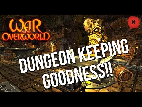 The Dungeon Keeper 3 WE DESERVE?! War For The Overworld 1.5 Crucible Gameplay First Impressions