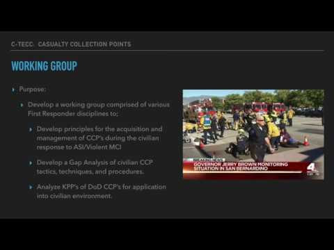C TECC Working Group Update: CCP's