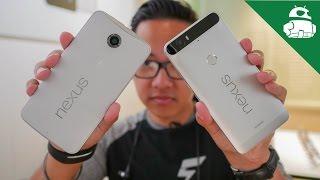Nexus 6P vs Nexus 6 - Quick Look!