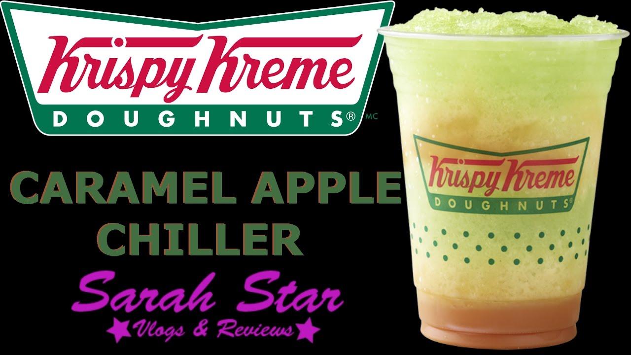 Drankin It Krispy Kreme Caramel Apple Chiller Youtube Kripiss Medan Karamel