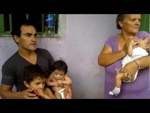 Edgar Palacio y sus beb�s