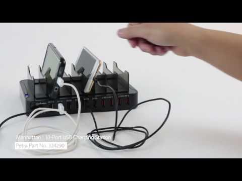 Spotlight On Manhattan's 10Port USB Charging Station
