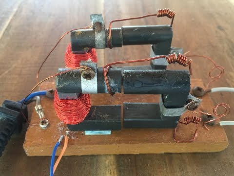 Thumbnail: How to make 3V Relay for school project , homemade a safe relay 2017