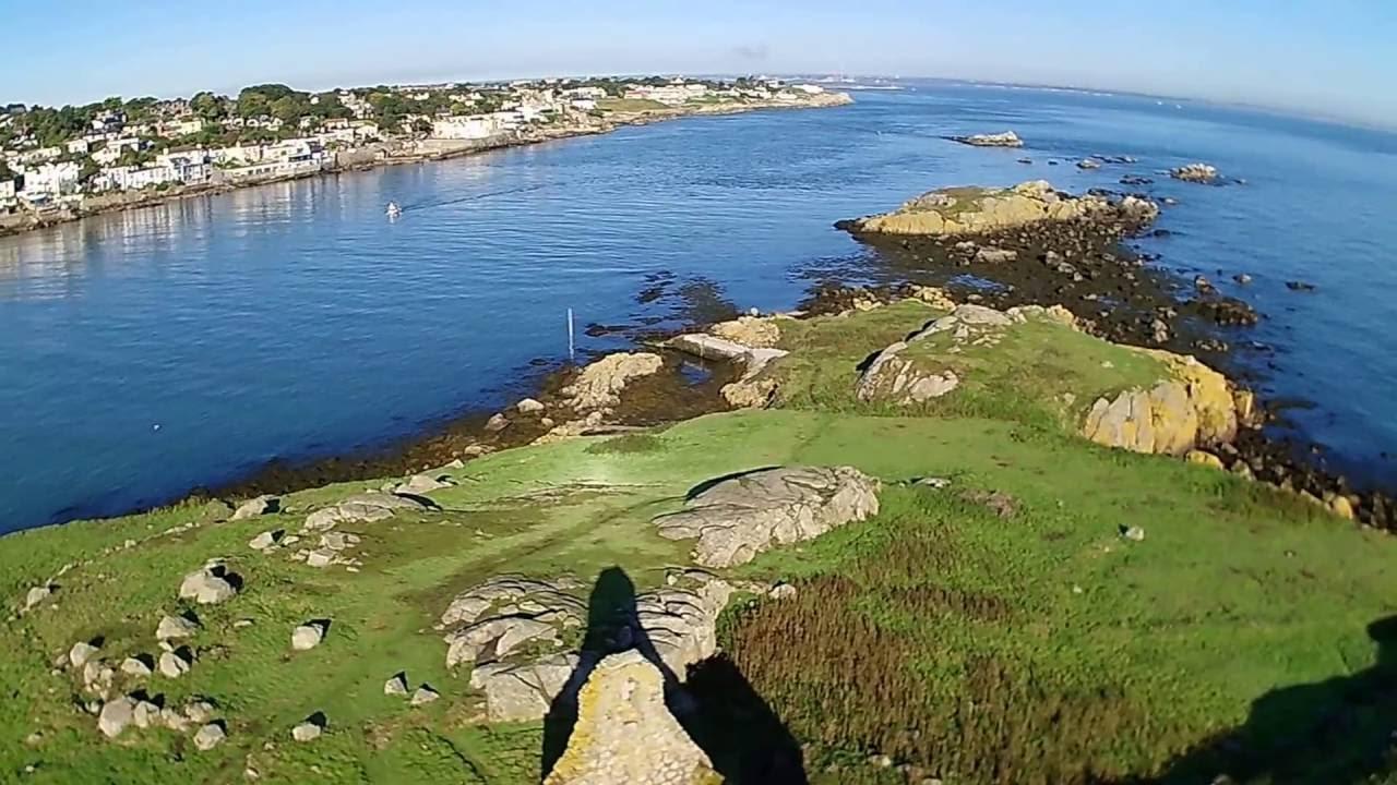 Dalkey - Ireland - H501S Hubsan Drone - Dublin - YouTube