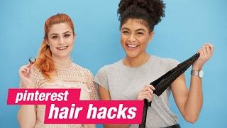 Pinterest hair hacks tested