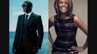 Akon Feat. Whitney Houston- Like I Never Left (HOT!! WITH LYRICS!!)