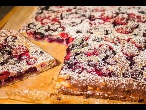 Beeren bl tterteig kuchen sehr fruchtig youtube - Youtube kuchen ...