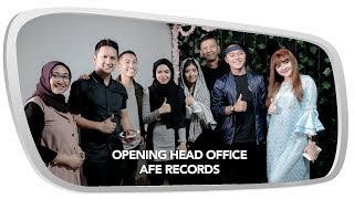 Opening Head Office AFE Records