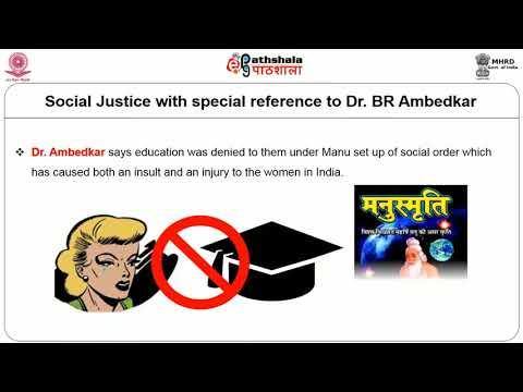 SOCIAL JUSTICE DISCOURSE OF DR B R Ambedkar