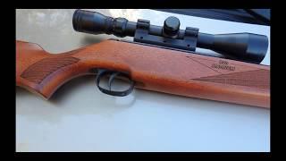 Diana 350 Magnum Обзор и стрельба по мишени