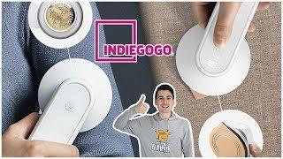 Indiegogo Cordless Iron // DeTi Wireless Iron Portable Mini Iron Review