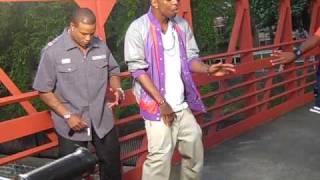 Yung LA Futuristic Love Video Shoot Footage