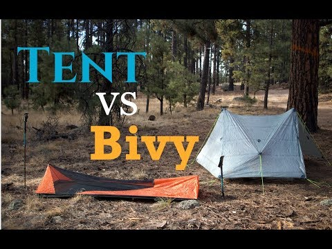 Tent Vs Bivy - What's the Best Shelter for You?