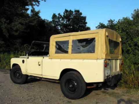 modular land rover 109 soft top configurations youtube. Black Bedroom Furniture Sets. Home Design Ideas