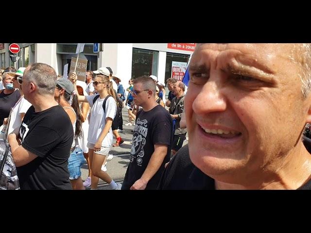 Yvan Benedetti à Nice Nous ne sommes pas des QR Codes