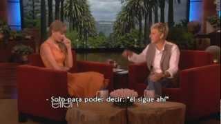 Taylor Swift entrevista con Ellen 25/10/12 subtitulada al español