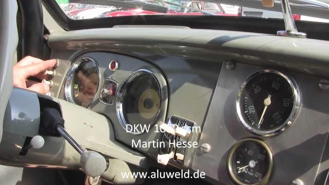 DKW 1000ccm 2-stroke car racing