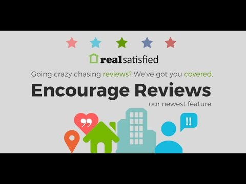 Introducing  Encourage Reviews from RealSatisfied