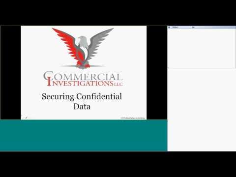 Webinar Series - Securing Confidential Data