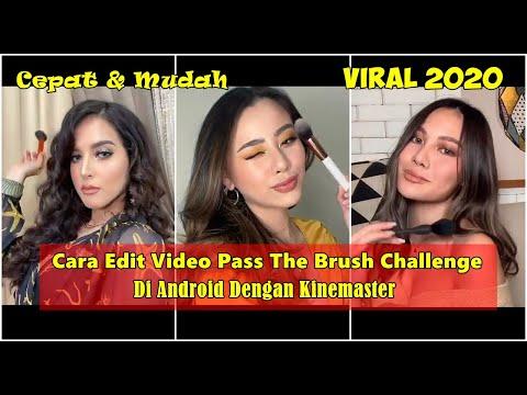Cara Edit Video Pass The Brush Challenge Di TikTok