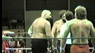 SWA Ox Baker & Fred Avery vs Sandy Beach & Mike Hayes