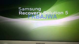 how to restore samsung laptop to factory settings