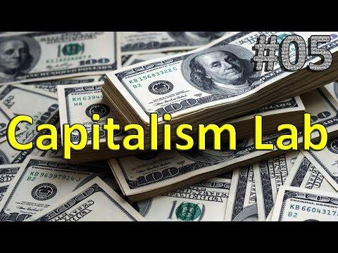 Capitalism Lab (Real world mod) - Ajustes na Indústria e Novo Produto! ep 05