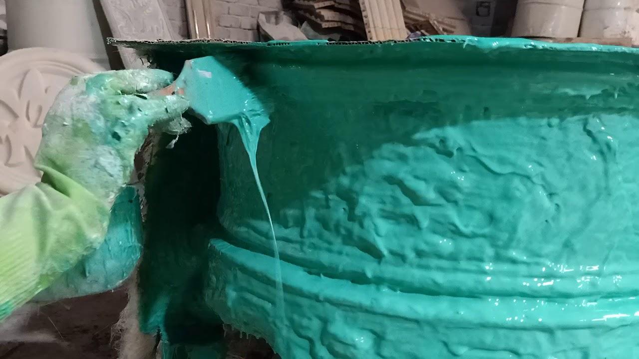 Hướng Dẫn Cách Làm Khuôn Nhựa Composite Phần 2 ( Intrusion on Making Plastic Composite Molds)