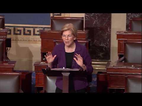 Senator Elizabeth Warren on the Republican tax bill passing Congress
