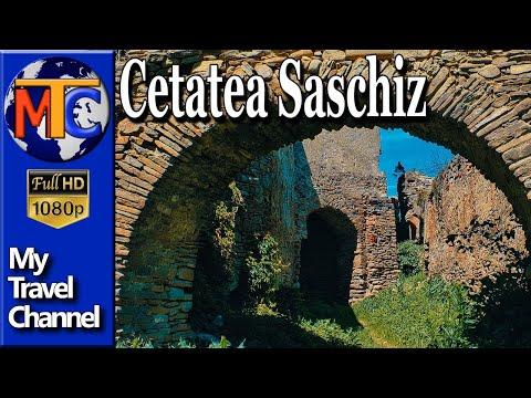 Ruinele cetatii Saschiz