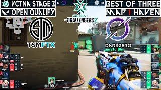 WINNER TO MAIN EVENT! TSM vs DARKZERO | Map 1 Haven | VCTNA Stage 3 Challengers 2 | MUNDI