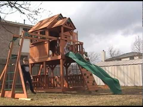 Quot Wooden Quot You Want To Play On This Skyfort Playset Youtube