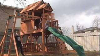 """wooden"" You Want To Play On This Skyfort Playset?"