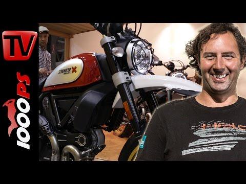 Ducati Scrambler Modelle 2017 | Desert Sled & Cafe Racer