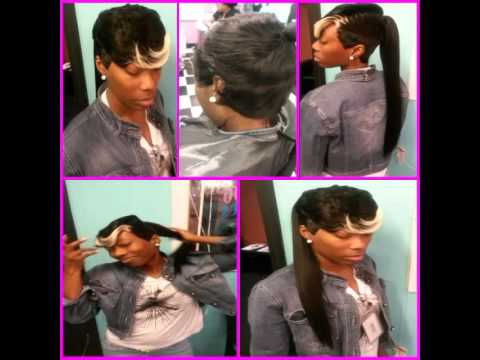 Quick Weave Ponytail Ms Unstoppable Youtube