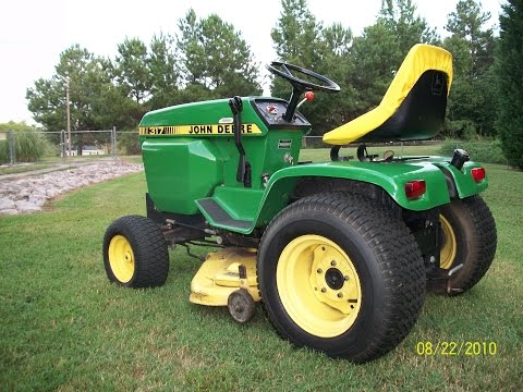 1980 John Deere 317 In Loving Memory Of Grandad Youtube