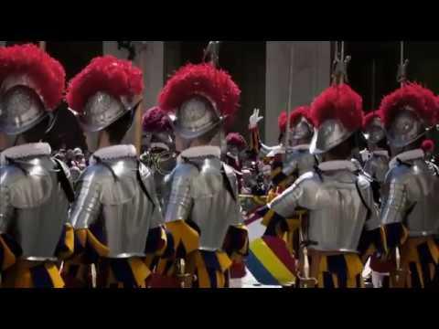 La guardia del Vaticano