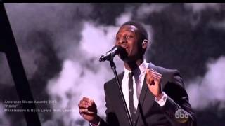 macklemore performs kevin feat leon bridges they call out big pharm nov 2015