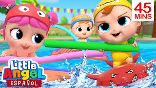 Download lagu ¡Juguemos en la Piscina! | Canción Infantil | Little Angel Español