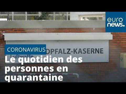 Coronavirus: en Allemagne, l'ennuyeux quotidien des personnes en quarantaine