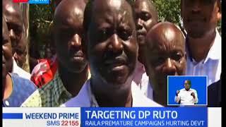 Raila castigates Ruto over 2022 campaigns