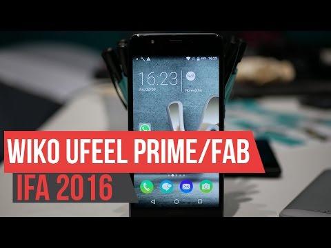 Wiko uFeel Prime e Fab Hands on IFA 2016