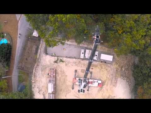 Aerial Video- Jomi Construction at Southwick's Zoo