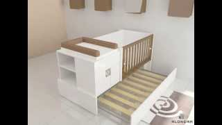 K416 Convertible Crib - Alondra