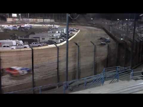 IMCA Modified Semi Main - Perris Auto Speedway 9/10/16