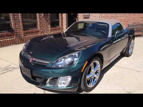 2007 Saturn Sky Red Line Turbo - 5 Speed - SOLD