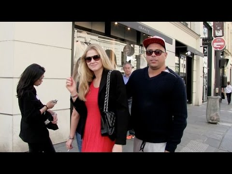 EXCLUSIVE: Ex-footballer Ronaldo and wife enjoying Paris