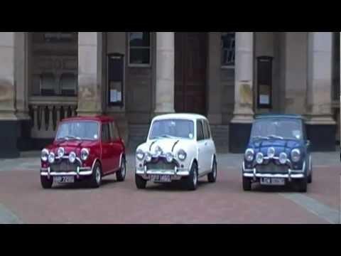 Classic Motor Show The Italian Job Minis Brummie Style