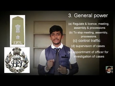 Power and functions OF Superintendent of police (SP). by Md musthafa mardala