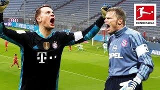 Manuel Neuer & Oliver Kahn - Magical Skills & Saves